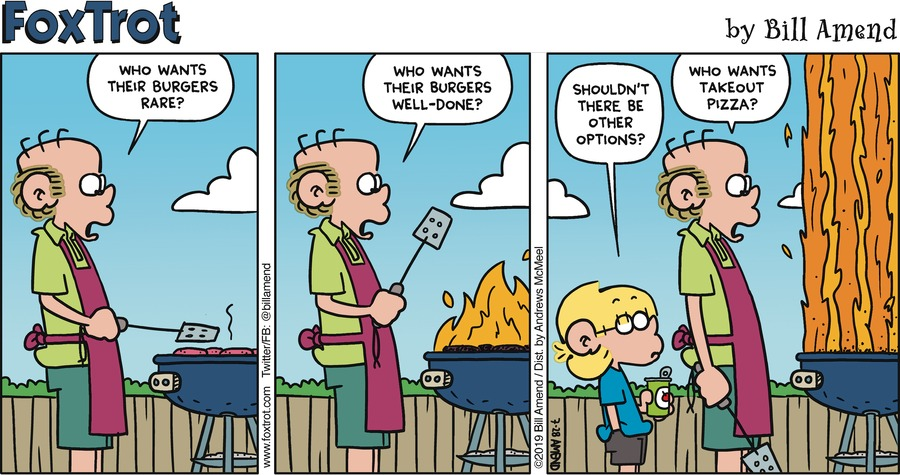 FoxTrot by Bill Amend for July 28, 2019