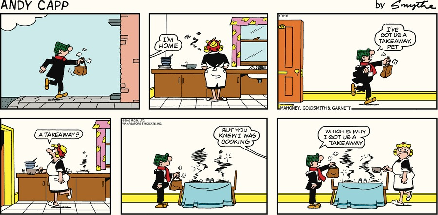 Andy Capp Comic Strip for October 18, 2020