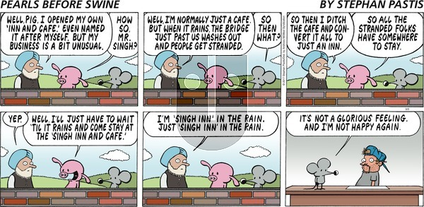 Pearls Before Swine on Sunday September 3, 2017 Comic Strip