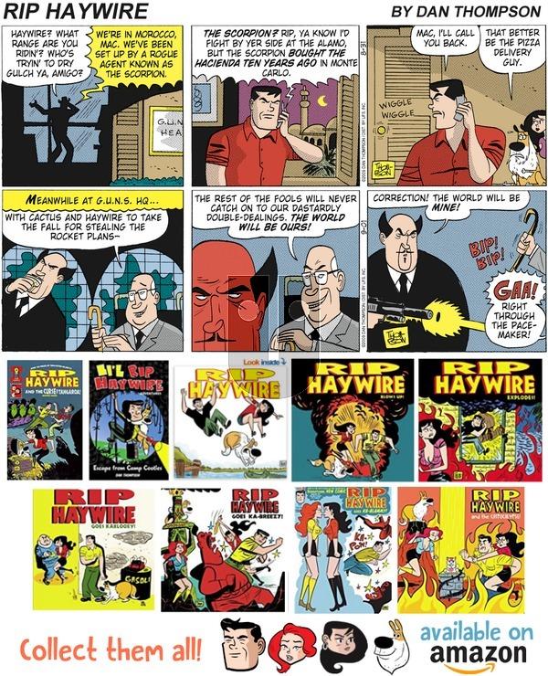 Rip Haywire on Sunday September 23, 2018 Comic Strip