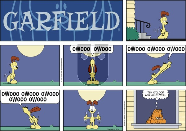 Garfield on Sunday May 31, 2020 Comic Strip