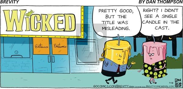 Brevity on Sunday July 13, 2014 Comic Strip