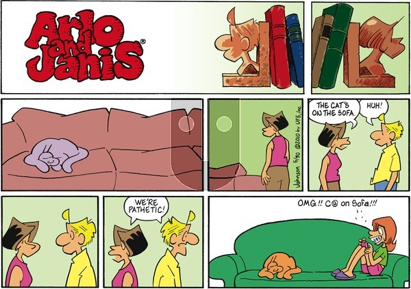 Arlo and Janis on Sunday May 30, 2010 Comic Strip