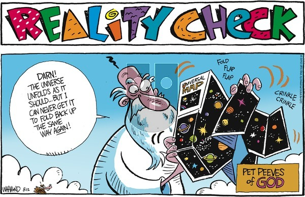 Reality Check on Sunday August 12, 2012 Comic Strip