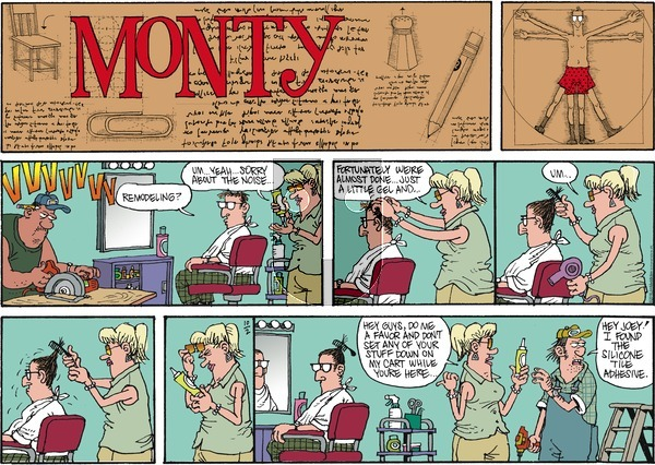 Monty on October 2, 2016 Comic Strip