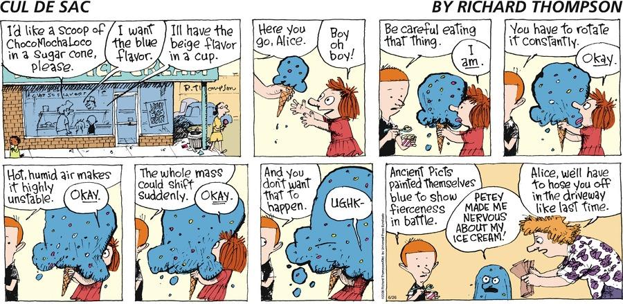 Cul de Sac Comic Strip for June 26, 2016