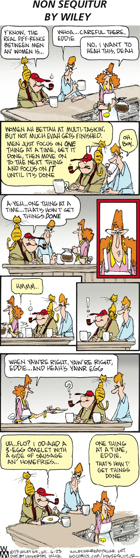 Non Sequitur for Jun 23, 2013 Comic Strip