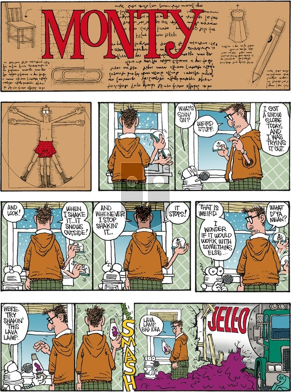 Monty on Sunday January 10, 2021 Comic Strip