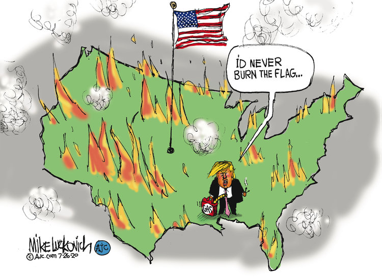 Mike Luckovich Comic Strip for July 26, 2020