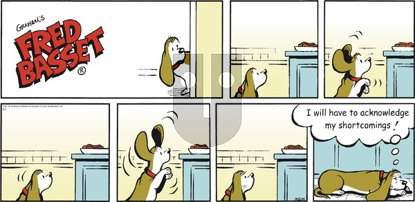 Fred Basset on Sunday March 7, 2021 Comic Strip
