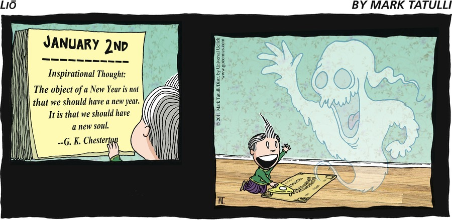 Lio for Jan 2, 2011 Comic Strip