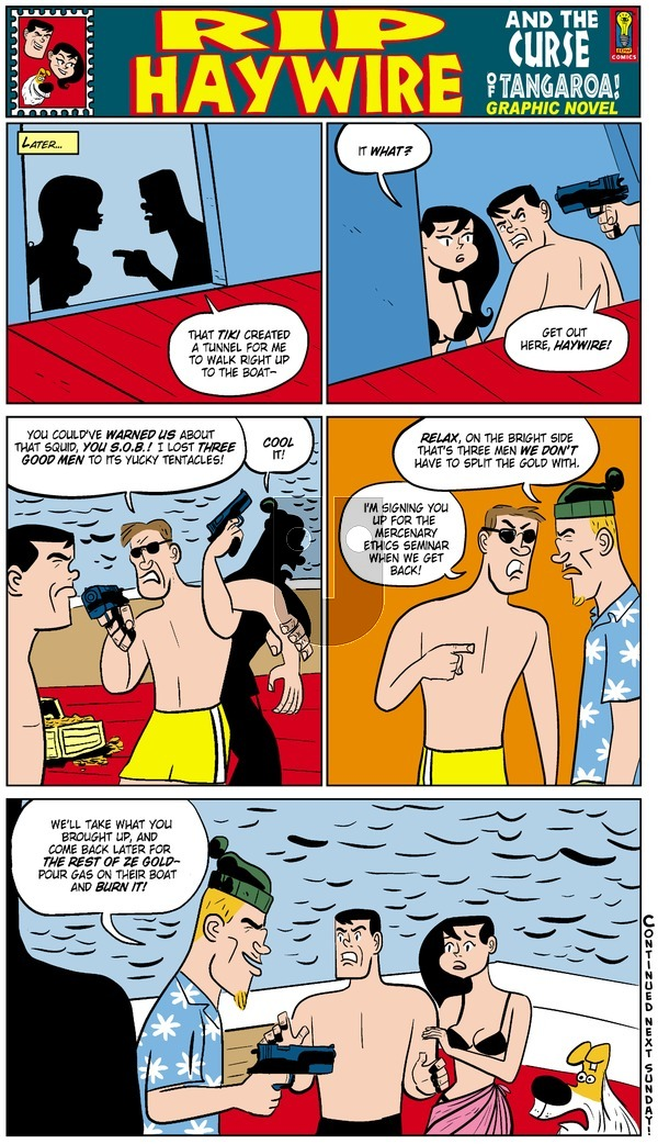 Rip Haywire on Sunday October 12, 2014 Comic Strip