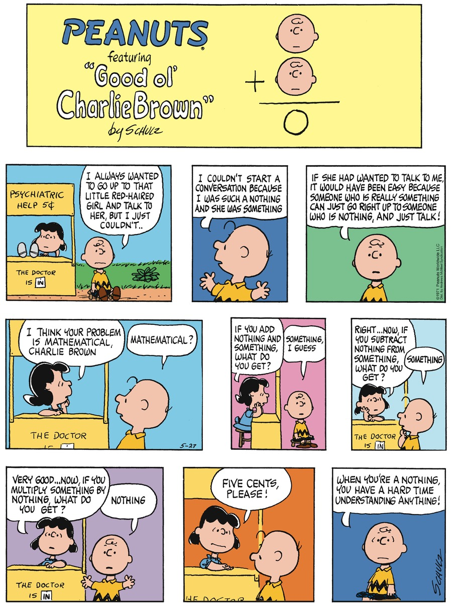 Peanuts for May 27, 2018 Comic Strip