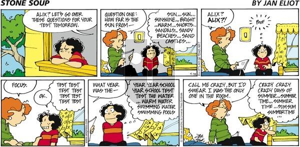 Stone Soup on Sunday May 30, 1999 Comic Strip