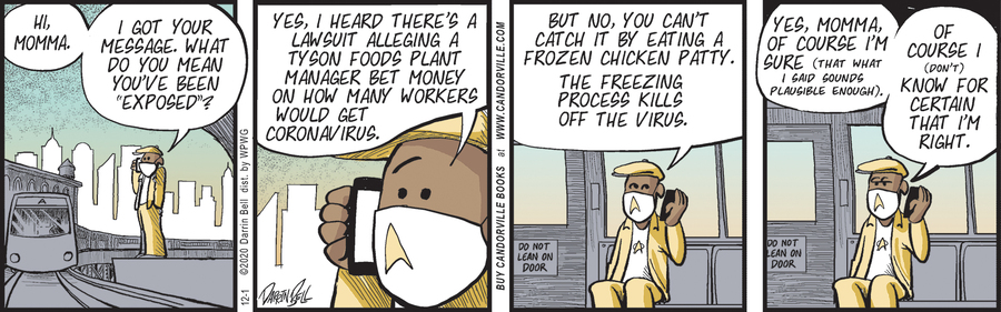 Candorville Comic Strip for December 01, 2020