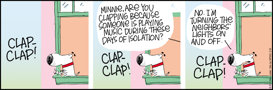 Mike du Jour Comic Strip for May 23, 2020