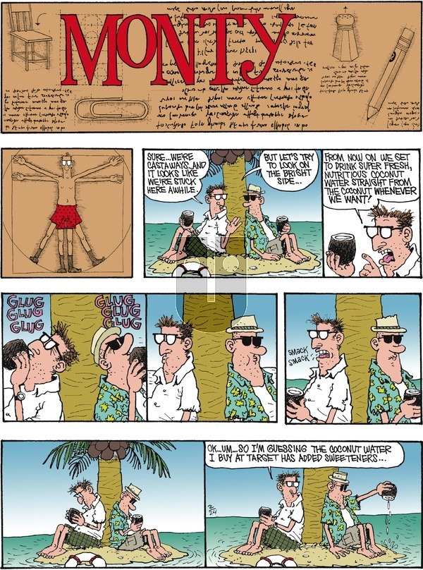Monty on Sunday February 24, 2019 Comic Strip