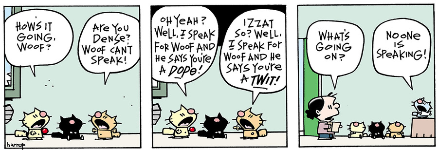 Ten Cats for Jun 22, 2013 Comic Strip