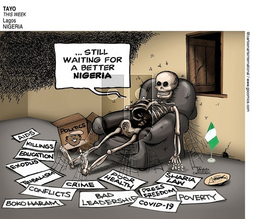 ViewsAfrica on Sunday September 27, 2020 Comic Strip