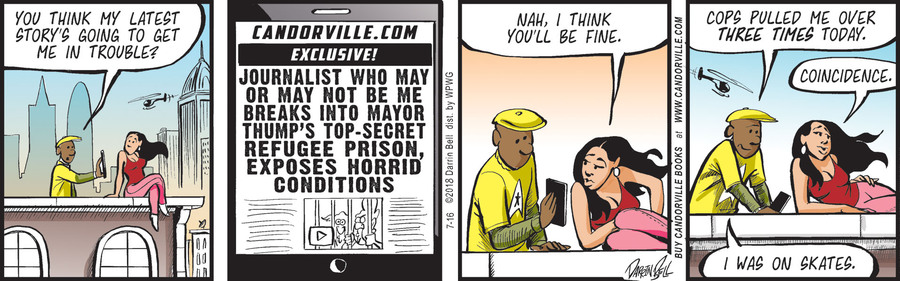 Candorville by Darrin Bell