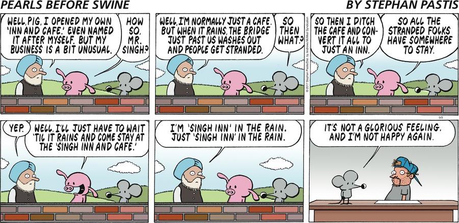 Pearls Before Swine Comic Strip for September 03, 2017