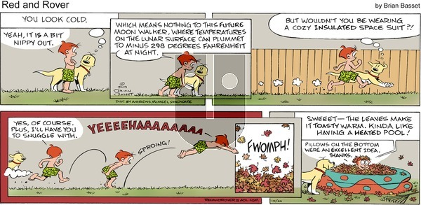Red and Rover on Sunday October 20, 2019 Comic Strip