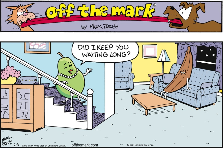 Off the Mark for Feb 3, 2013 Comic Strip