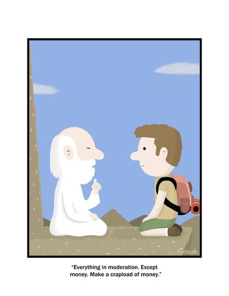 Foolish Mortals Comic Strip for April 06, 2020