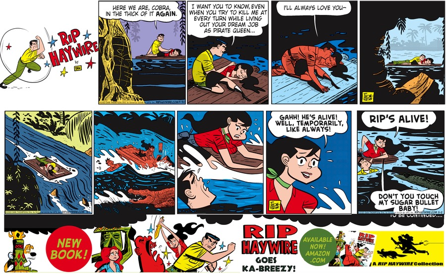 Rip Haywire Comic Strip for October 11, 2015