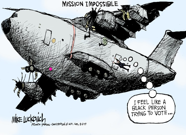 Mike Luckovich for Aug 2, 2015 Comic Strip