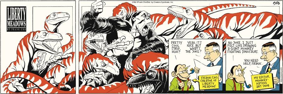 Liberty Meadows for Jan 6, 2013 Comic Strip