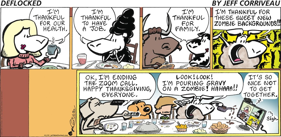 DeFlocked Comic Strip for November 22, 2020