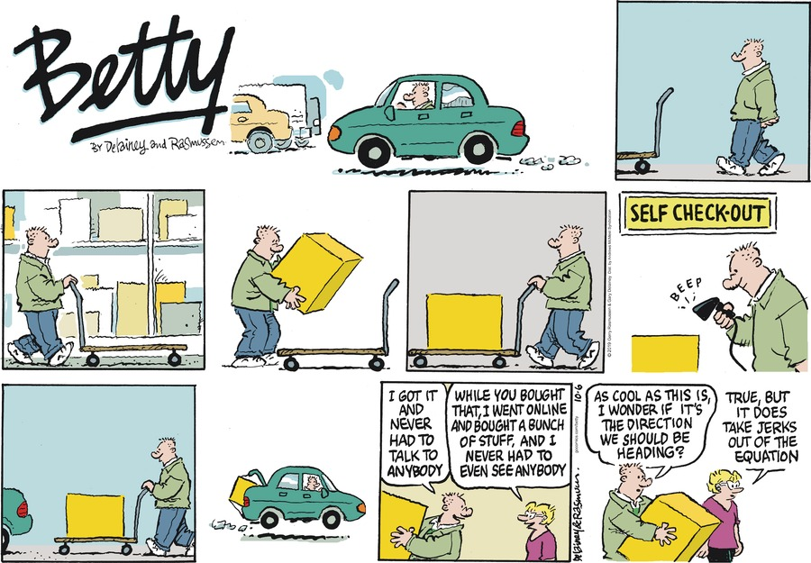 Betty Comic Strip for October 06, 2019
