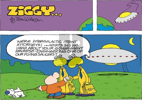 Ziggy on Sunday August 14, 2016 Comic Strip
