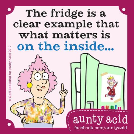 Aunty Acid for Sep 25, 2017 Comic Strip