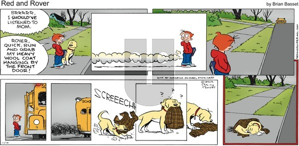 Red and Rover on Sunday November 10, 2019 Comic Strip