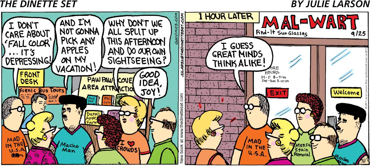 The Dinette Set Comic Strip for July 21, 2021