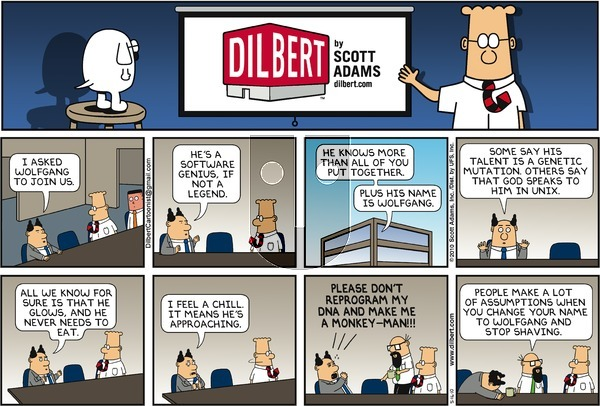 Dilbert on Sunday May 16, 2010 Comic Strip