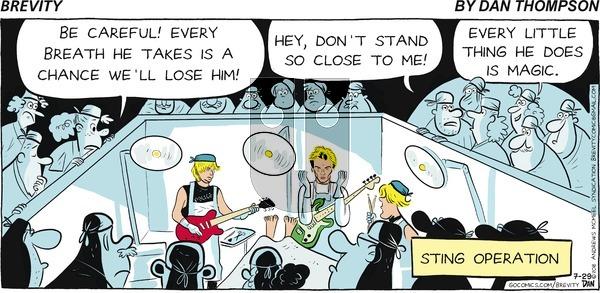 Brevity on Sunday July 29, 2018 Comic Strip