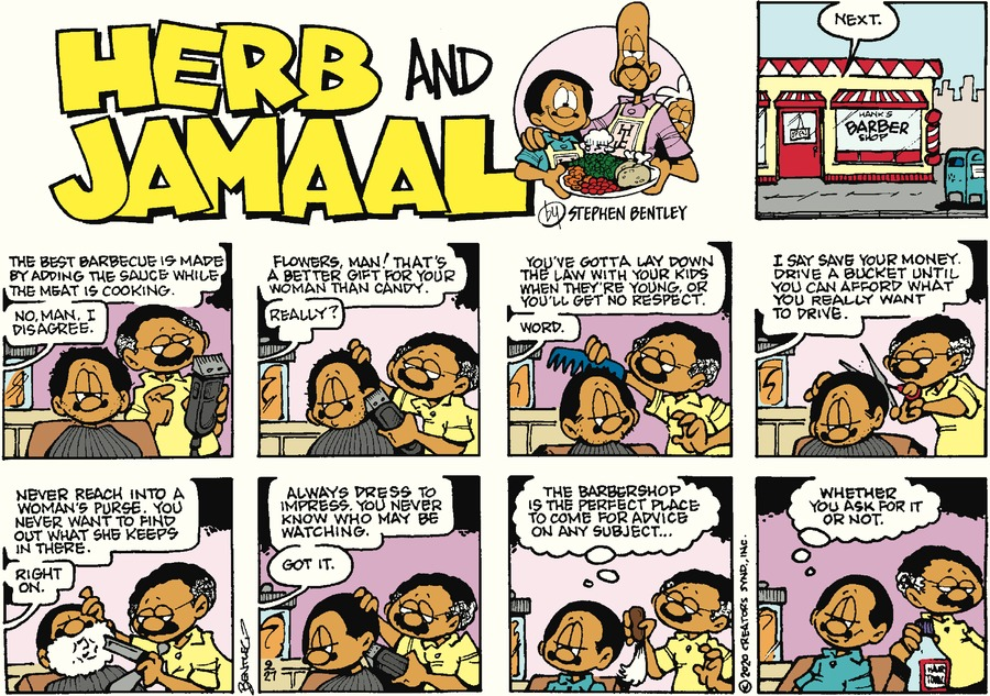 Herb and Jamaal Comic Strip for September 27, 2020