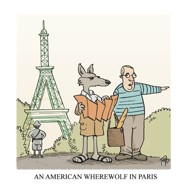Wolf in Paris