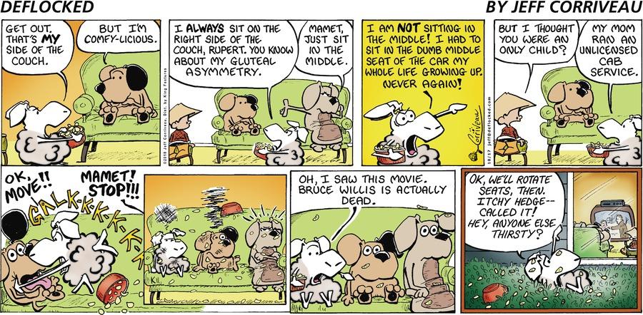 DeFlocked Comic Strip for October 17, 2010