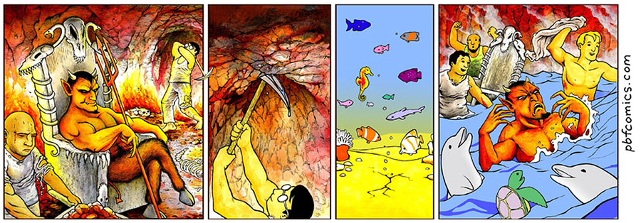 Perry Bible Fellowship Comic Strip for August 03, 2021
