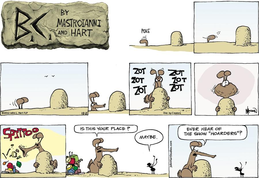 B.C. Comic Strip for December 02, 2012