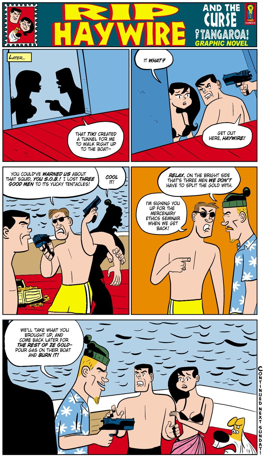 Rip Haywire Comic Strip for October 12, 2014