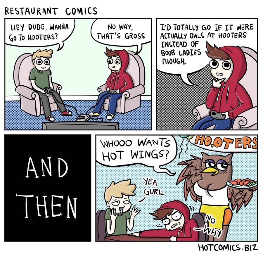 Hot Comics for Cool People for Apr 10, 2017 Comic Strip