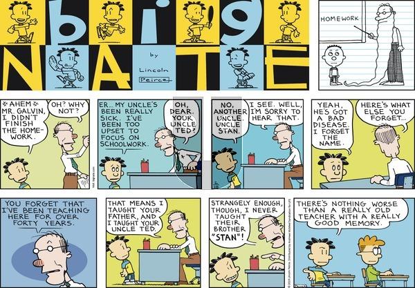 Big Nate on Sunday February 10, 2019 Comic Strip