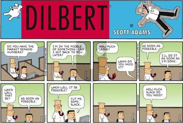 Dilbert - Sunday September 19, 2004 Comic Strip