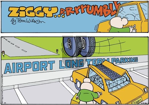 Ziggy on Sunday August 6, 2017 Comic Strip