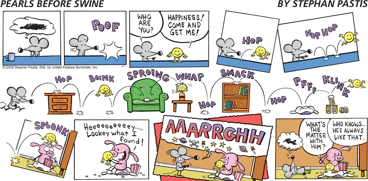 Pearls Before Swine Comic Strip for May 11, 2008